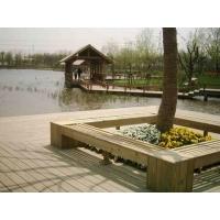 防腐木座椅-湄宏木业