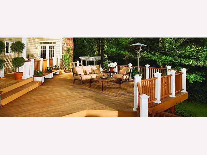 防腐木地板-湄宏木业