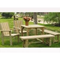 防腐木桌椅-湄宏木业