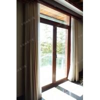 日佳柏莱68系列铝包木外开门窗