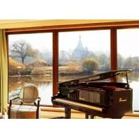北京日佳柏莱铝包木门窗经营铝包木防盗窗++