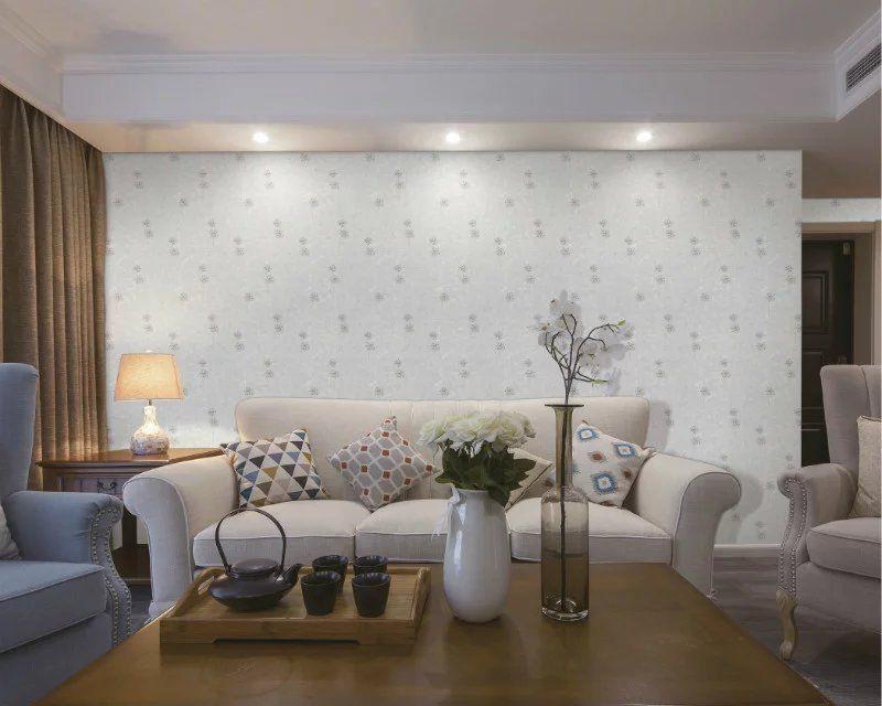 无缝墙布 高档刺绣墙布 卧室客厅装修背景墙布