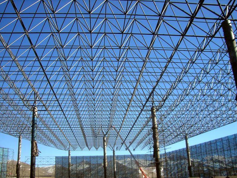 徐州三华网架 球形网架 干煤棚网架 - 三华钢结构网架