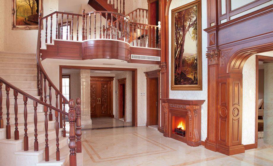 也开始向现代板式家具靠拢,玻璃,亚克力,布艺,皮质等材质巧妙地与原木