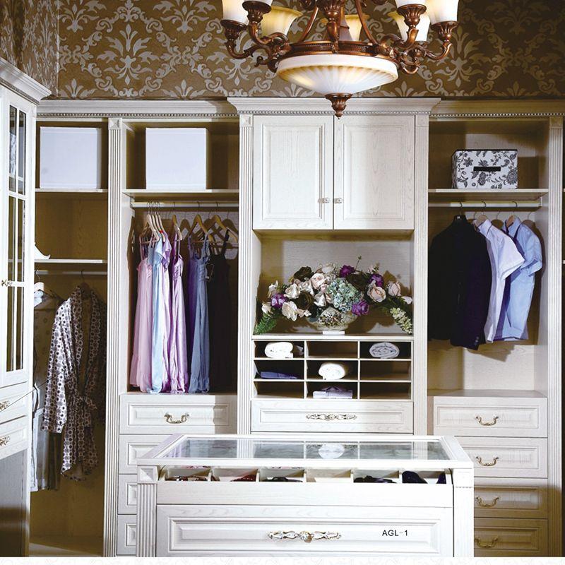 实木免漆衣柜