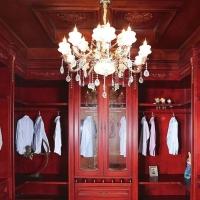 实木油漆衣柜