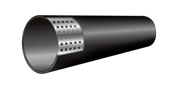 TTP-PESI孔网钢带聚乙烯复合管