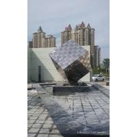 城市雕塑-小区雕塑-不锈钢雕塑-楼盘雕塑-不锈钢城市雕塑