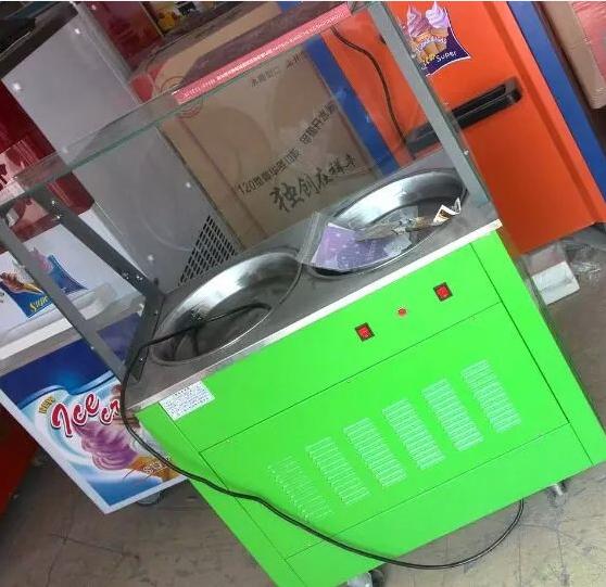 炒酸奶机-炒酸奶机器-小吃炒酸奶机
