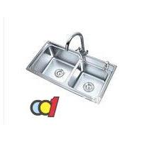 成都华雕卫浴--华雕水槽系列--不锈钢厨房水槽