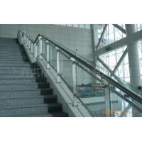 银行防指纹不锈钢旋转楼梯栏杆立柱专业定制
