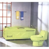 倍利高洁具-浴缸A-013(果绿,分左,右裙)