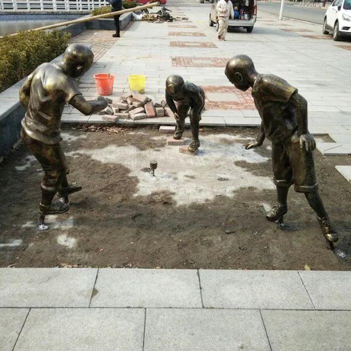 南京铸铜雕塑-天将雕塑