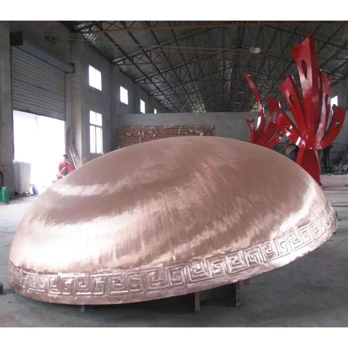 南京煅铜雕塑-天将雕塑