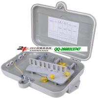 smc光缆分纤箱 12芯光纤光缆分线盒