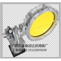 DN250铸铝手动粉体蝶阀