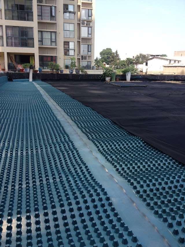 蓄排水板塑料绿化排水板 屋顶花园排水板