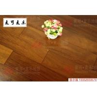 麦可麦乐番龙眼纯实木地板18mm卧室地板实木地板