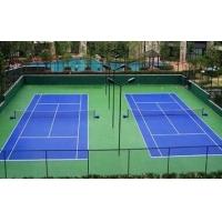 四川网球场建设