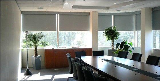 办公室窗帘 办公卷帘 铝百叶 木百叶定制