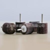 T型带柄叶轮木工金属百叶电磨头抛光轮6MM柄