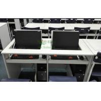 多媒体电脑桌 会议翻转电脑桌 办公翻转桌