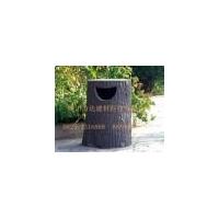 四川力达大量供应仿树皮凳子/垃圾箱/垃圾桶