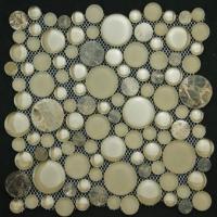 荣轩3005-13圆形石材马赛克 圆形大理石马赛克