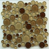 荣轩 3004-8 圆形玻璃马赛克
