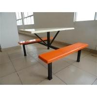 学校食堂快餐桌,学生餐桌椅,不锈钢食堂餐桌凳