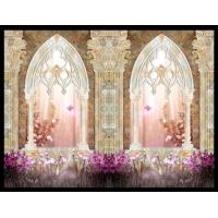 连想家琉璃彩背景墙