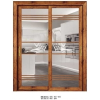 铝合金推拉门 实用大体家装客厅落地门 厨房阳台无轨吊趟平移门