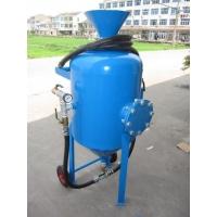 开放式喷砂机  移动喷砂罐