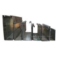 吉福隆卷帘门导槽设备 滑道 车库门 快速卷帘门导轨机械