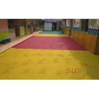 山东橡胶地面幼儿园安全弹性地面