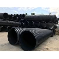 HDPE钢带增强螺旋波纹管 钢带波纹管