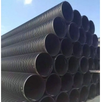 聚乙烯塑钢缠绕管 大口径雨污排水管