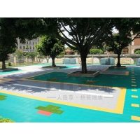 拼装地板 幼儿园拼装地板 篮球场拼装地板