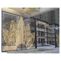 天津铁艺装饰,优雅古典铁艺大门,欧式铁艺围栏安装