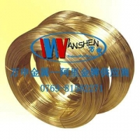 H65黄铜线厂家,弹簧专用黄铜线批发