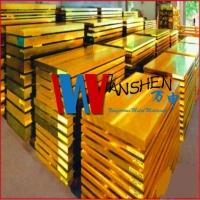 H62环保黄铜板 冷轧高精H62无铅黄铜板