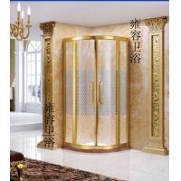 欧式太空铝光金淋浴房
