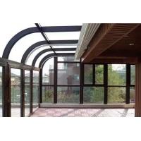天津断桥铝门窗封阳台,露台,封小院