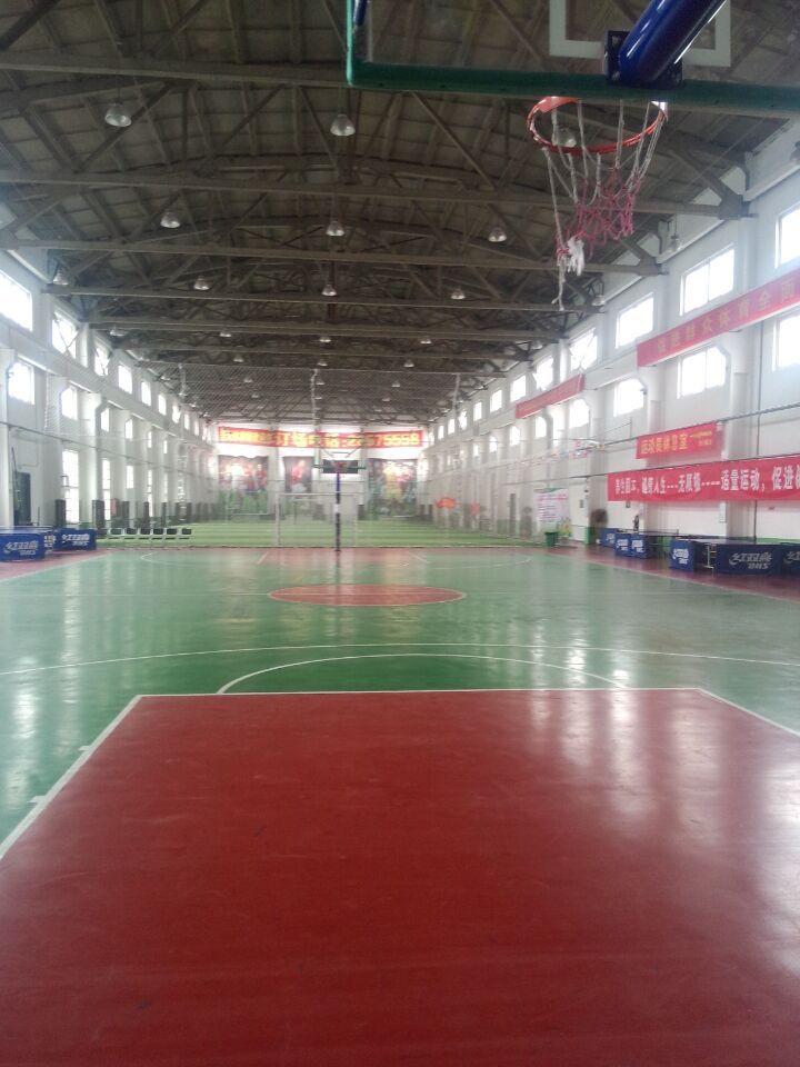 天津籃球館地板_室內運動場地膠