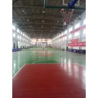 天津篮球馆地板_室内运动场地胶