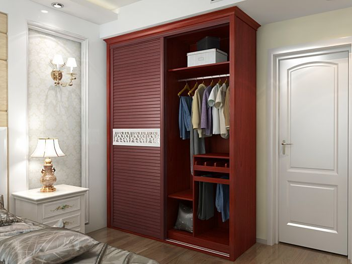 苏州好丽莱家居设计的衣柜大多崇尚装修一体化效果