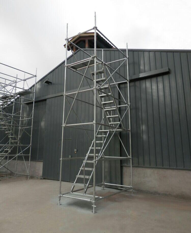 盘扣式镀锌安全爬梯(挂梯拔2米)