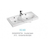 陶瓷双盆洗衣盆一米,坚固耐用,方胆圆胆1015mm