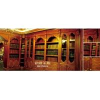 原木书柜,原木书柜定制,原木书柜定做
