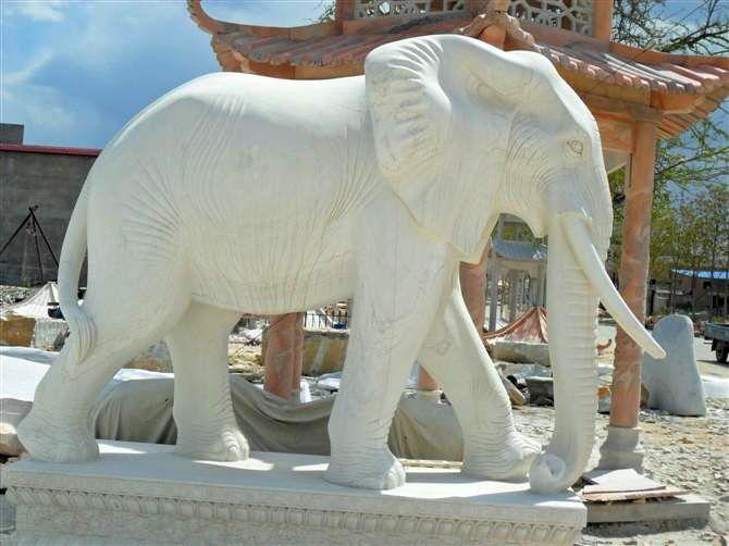 动物雕塑 大象雕塑 石雕大象 铜雕大象 垦荒牛 石狮子